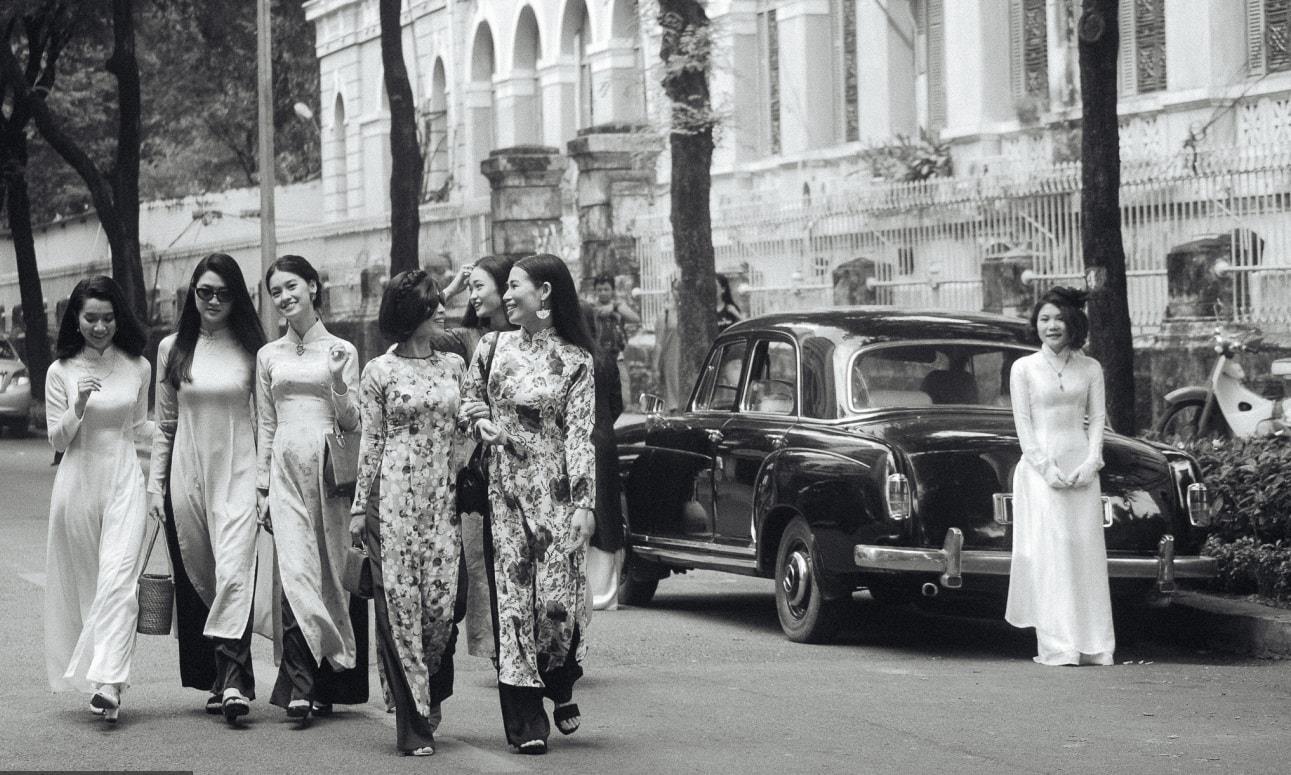 Ngỡ ngàng trước bộ ảnh Sài Gòn xưa được tái hiện một cách chân thật